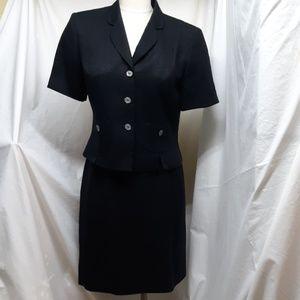 Albert Nipon Black Women's Suit